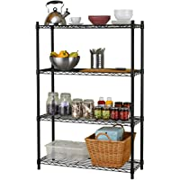 Tidyliving 4 Tier Mesh Shelving
