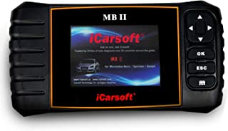 iCarsoft MBII for Mercedes Benz/Sprinter/Smart Professional Diagnostic Tool Scanner, New Version