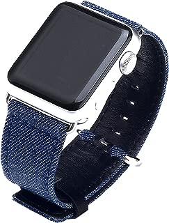 APPLE Watch Series 3/2/138MM 42MM pulsera, denim Replacement Reloj de pulsera brazalete deportivo banda de repuesto para iWatch