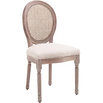 Vintage Stuhl, Esszimmerstuhl, Holzstuhl im Landhausstil