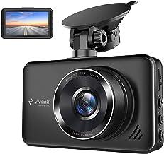 ViviLink T20X Dash Cam 2.5K Telecamera per Auto da 3 Pollici, Obiettivo Grandangolare di 170°, WDR, G-Sensor, Registrazione in Loop, Rilevatore di Movimento, Monitor di Parcheggio