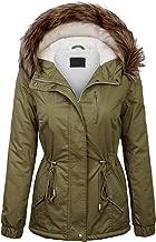Made By Johnny MBJ Womens Military Anorak Safari Hoodie Jacket