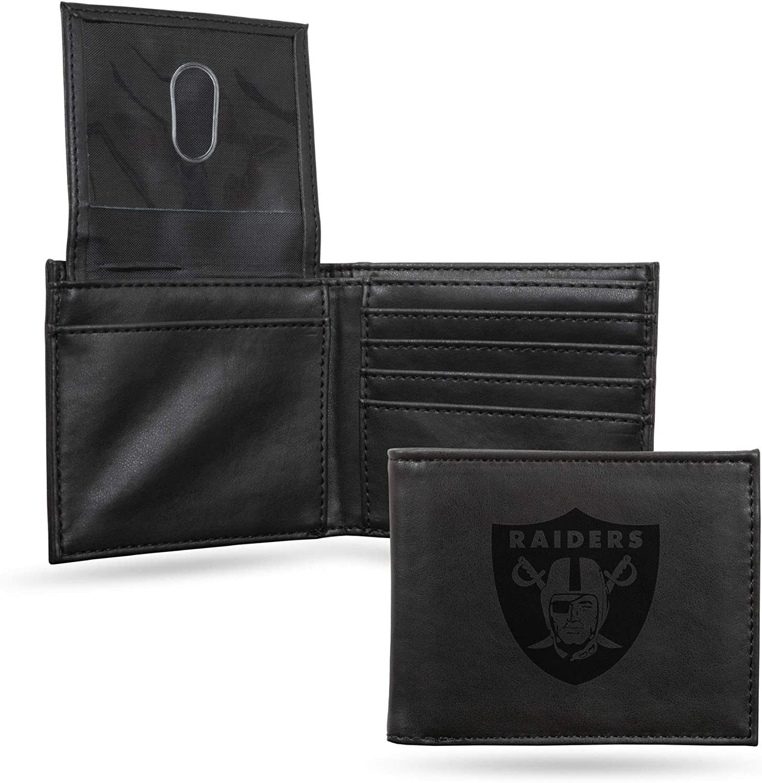NFL Rico Industries Laser Engraved Ranking TOP7 Wallet Raid Billfold Oakland Sale