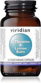 Viridian L Theanine Lemon Balm, 30 CT