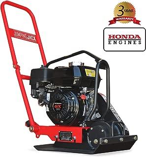 JUMPING JACK 5.5 HP Vibratory Plate Compactor Tamper for Dirt, Asphalt, Gravel, Soil Compaction Powered by Honda GX160 Engine
