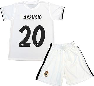 Kit Camiseta y Pantalón Primera Equipación Infantil Marcos Asensio Producto Oficial Licenciado Temporada 2018-2019