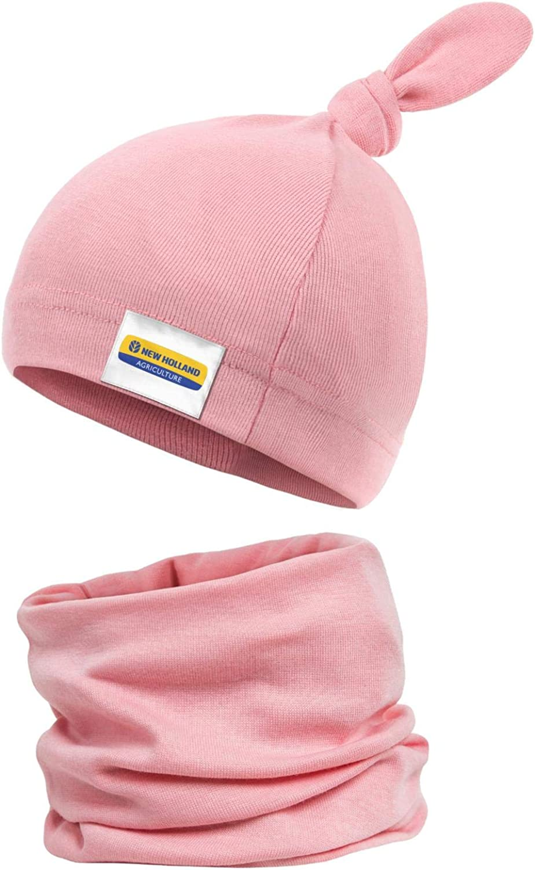 Slwari Baby Hats New-Holland-Logo Autumn 5 ☆ very popular Choice Cotton Win Newborn