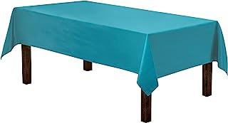 رومیزی مستطیل Gee Di Moda - 60 84 84 اینچ - میز کارواش مستطیل کارائیب برای 5 پایه جدول در پلی استر قابل شستشو - عالی برای میز بوفه ، مهمانی ها ، شام تعطیلات ، عروسی و موارد دیگر