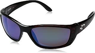 Costa del Mar Unisex-Adult Fisch FS 11 OBMGLP Polarized Iridium Oval Sunglasses