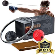 Copperhead Boxing Reflex Ball Punching Fight Ball Head Band - 2 Difficulty Level, Training Set...