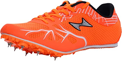 HEALTH Middle Long Dist Orange Track Field Shoes 166 1