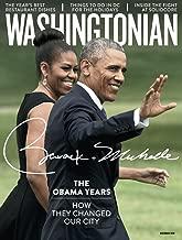 Washingtonian Magazine (December, 2016) The Obama Years Barack Obama + Michelle Obama Cover