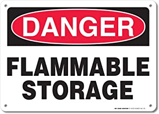 Best flammable cabinet sign Reviews