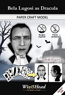 Bela Lugosi as Dracula - Paper Craft Model, 3D Assembly Puzzle, Home Décor, Educational Birthday Gift