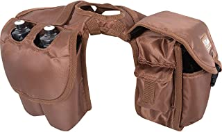 Cashel Quality Deluxe Medium Horse Saddle Pommel Horn Bag, Insulated Padded Pockets, Two Water Bottle Pockets, Camera or Cell Phone Pocket, 600 Denier Material, Size: Medium Color Choice