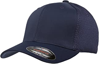 Flexfit Men`s Ultrafibre Airmesh Fitted Cap | Stretch Fit Ballcap w/Hat Liner