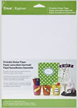 Cricut Printable Sticker Paper for Scrapbooking 2 Pack