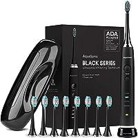 Deals on AquaSonic Black Series Ultra Whitening Toothbrush w/8 Heads