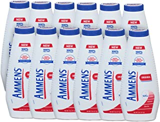 Ammens, Talc-Free Body Powder, Original, 11 Oz, (12 Pack)