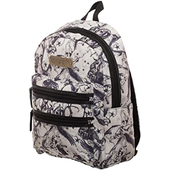 Loungefly Harry Potter Hogwarts Floral Print Backpack Standard HPBK0033
