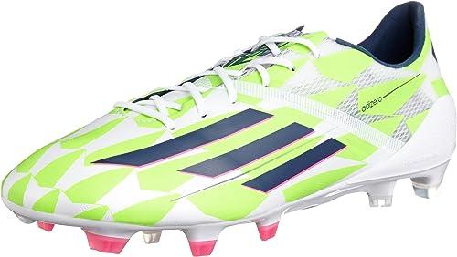 Adidas F50 ADIZERO FG Chaussures de Football pour Homme Vert Blanc ...
