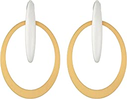 Lucky Brand - Mixed Metal Earrings