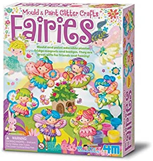 4M 3498 3524 Mould and Paint Glitter Fairy Art and Craft Toy