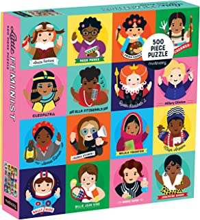Little Feminist 500 Piece Family Puzzle, Feminists, Model: