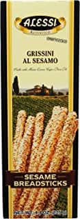Alessi Sesame Breadsticks, 4.4-Ounce Boxes (Pack of 12)