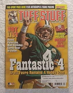 Brett Favre - Green Bay Packers - Fantastic 4 - Tuff Stuff Magazine - December 2007
