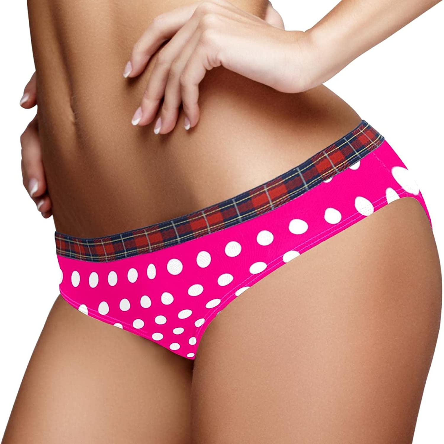 Stretch Bikini Gifts Panty S Polka Dots Briefs Ladies Rose Hipster Tucson Mall Red