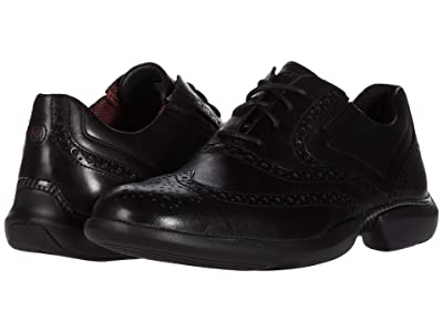 Rockport Total Motion Advance Wing Tip (Black) Men