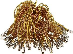 #N/A 100 stuks gevlochten koord koord DIY touw touw DIY knutselbenodigdheden - goud