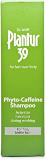 Dr Wolff Plantur 39 Caffeine Shampoo For Fine/Brittle Hair 250ml (womens hair loss treatment) by Dr Dry