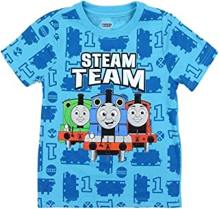 Thomas and Friends Little Boys' Toddler Allover Print Tee
