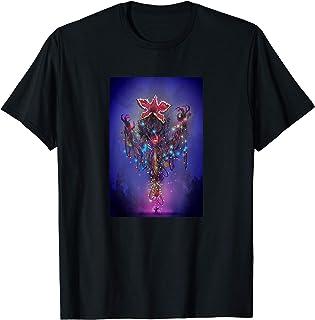 Stranger Things Demogorgon Christmas Lights Camiseta