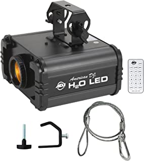 American DJ H20 LED IR Multi Color Water Flow DJ Light Effect+Cable+Clamp