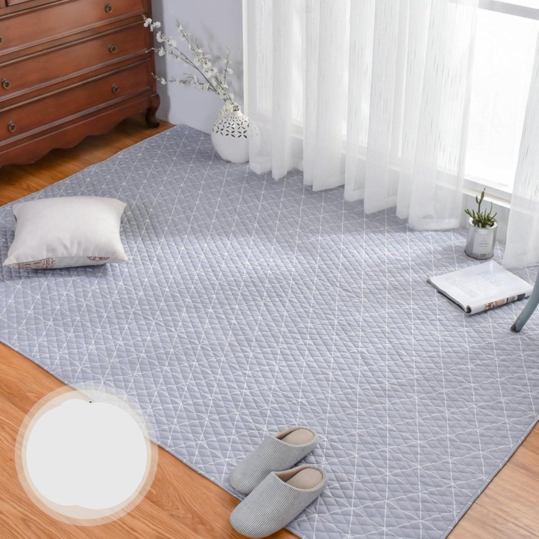 HOMMEMAT Amerikanische Baumwolle Baby Krabbeln Matte,Matt mat Wohnzimmer Schlafzimmer Matte TeppichB 150x190cm(59x75inch)