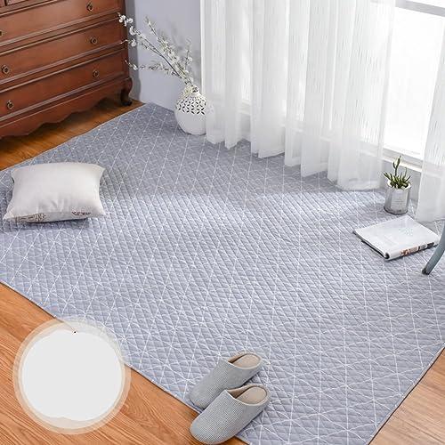 HOMMEMAT Amerikanische Baumwolle Baby Krabbeln Matte,Matt mat Wohnzimmer Schlafzimmer Matte Teppich-B 150x190cm(59x75inch)