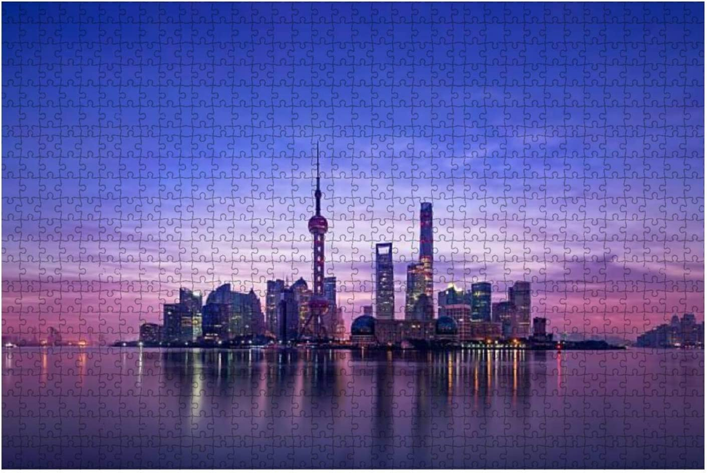 Max 47% OFF Panoramic Skyline of Shanghai Water Royalty Cheap bargain Stock Pictures City