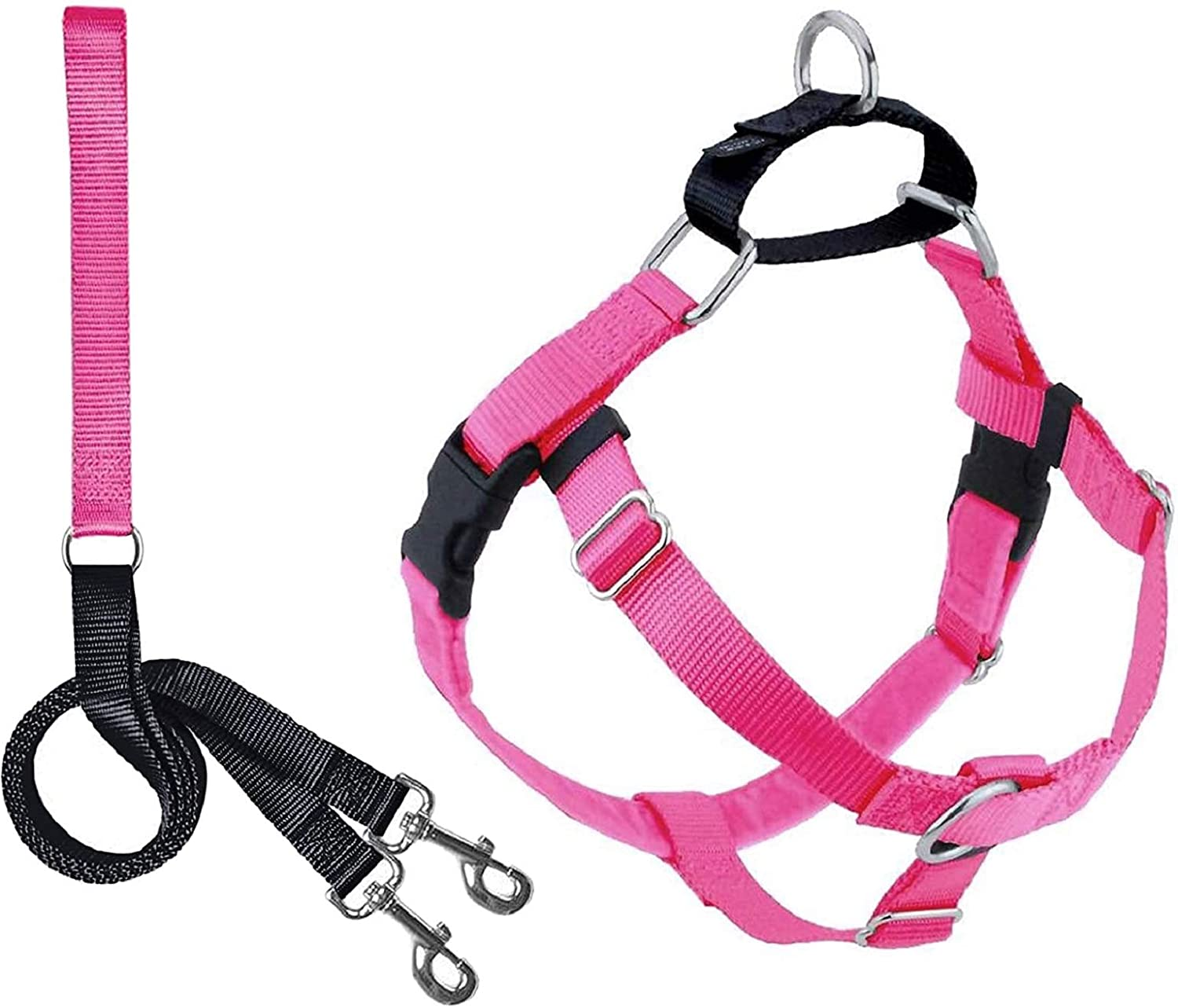 2 Challenge the lowest price Hounds Year-end annual account Design Freedom No Adjustable Dog Harness Gentle Pull