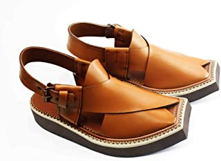 Imran Khan Style Brown Color Men Fashion Sandals