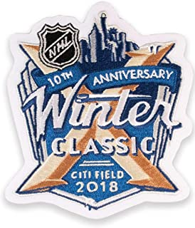 National Emblem 2018 NHL Winter Classic Jersey Patch New York Rangers (10th Anniversary)