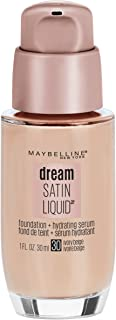 Maybelline New York Dream Satin Liquid Foundation, Ivory Beige [30], 1 oz