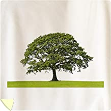 Lantern Press Lone Oak Tree Photography A-91523 (88x88 Queen Microfiber Duvet Cover)