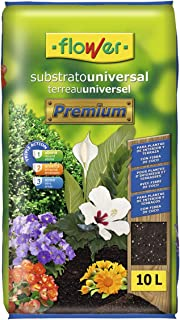 Flower Universal Premium Substrato, 10L, Marrón, 29x6x46 cm