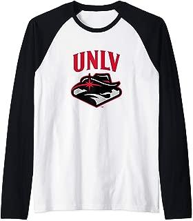 Nevada Las Vegas University Rebels NCAA PPNLU001 Raglan Baseball Tee