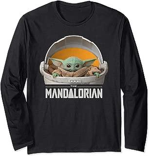 The Mandalorian The Child Floating Pod Long Sleeve T-Shirt