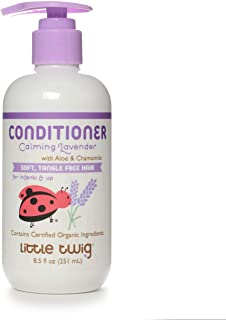 Little Twig All Natural, Hypoallergenic Conditioning Detangler with an Organic Blend of Lavender, Lemon, and Tea Tree Oils...