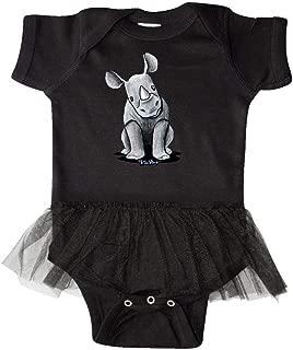 Curious Rhinos Infant Tutu Bodysuit - KiniArt